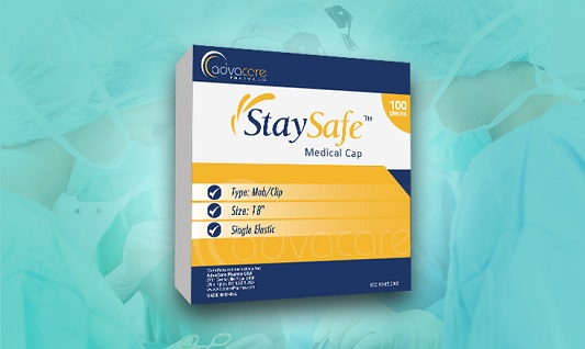 StaySafe Medical Cap Packaging