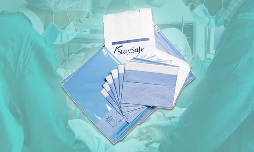 StaySafe Surgical Pack Packaging