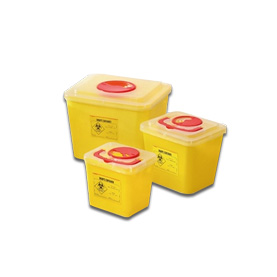 StaySafe Waste Container Packaging